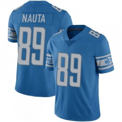 Isaac Nauta Detroit Lions Youth Limited 100th Vapor Nike Jersey - Blue