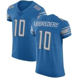 Jared Abbrederis Detroit Lions Men's Elite Team Color Vapor Untouchable Nike Jersey - Blue
