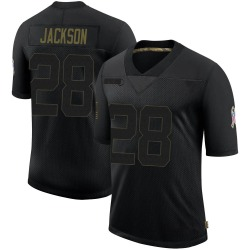 Michael Jackson Detroit Lions Youth Limited 2020 Salute To Service Nike Jersey - Black