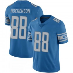 T.J. Hockenson Detroit Lions Youth Limited 100th Vapor Jersey - Blue